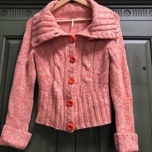 100% Cashmere Free People Knit Sweater